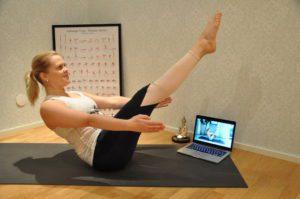 OmStars member, boat pose, navasana, yoga practice story