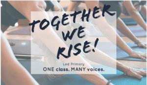 Together we rise Ashtanga Yoga Dispatch