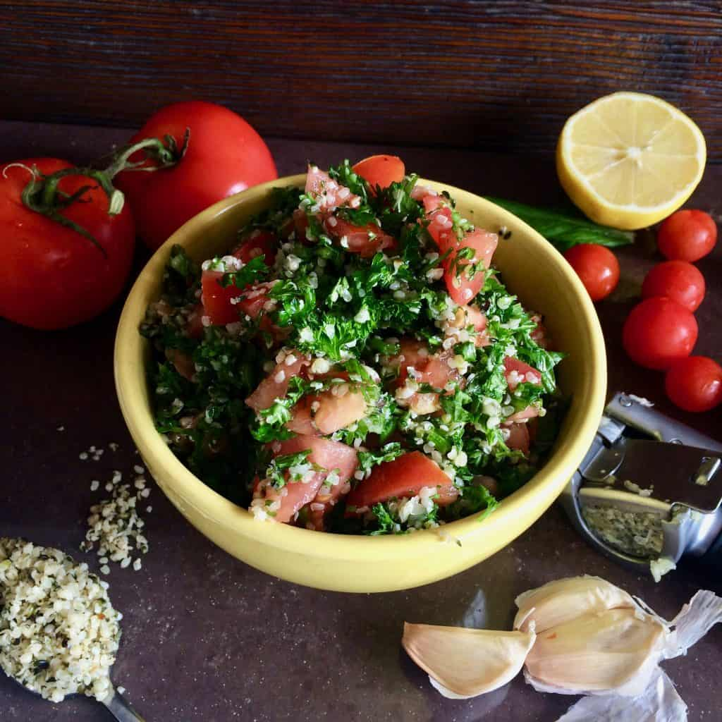 The great uncooking omstars now that its officially legal to eat hemp in australia im happy to make my recipe public however you spell tabouli tabbouleh my version is a blessing forumfinder Images