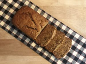 Vegan Banana bread recipe on OMstars