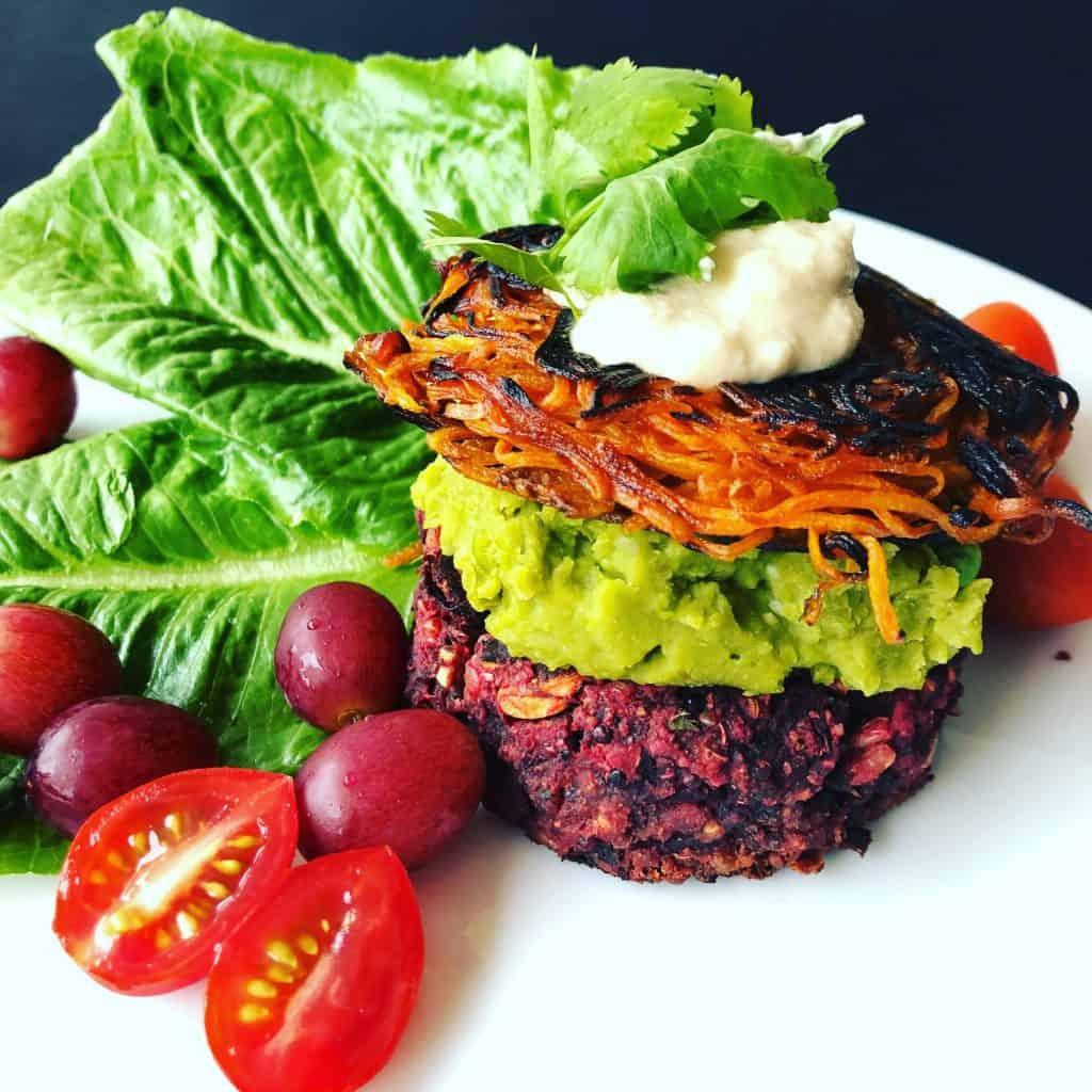Roasted Beetroot Burger
