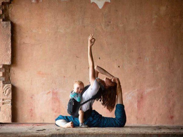 yoga and motherhood, yoga for moms, mom yoga, omstars