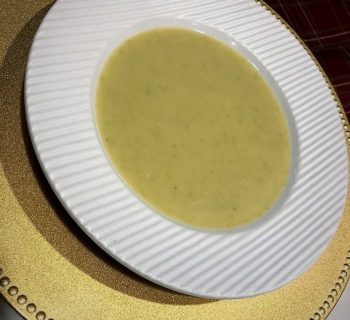 Cozy Potato Leek Soup