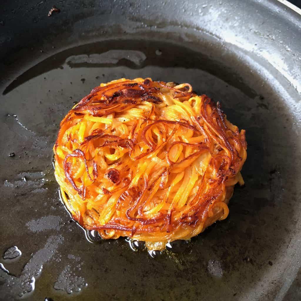 Sweet Potato Rosti
