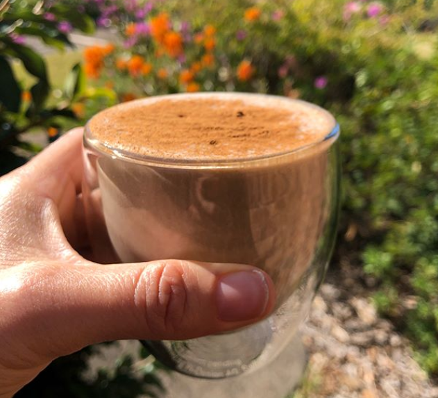 Iced Coffee + Chai Protein Smoothie