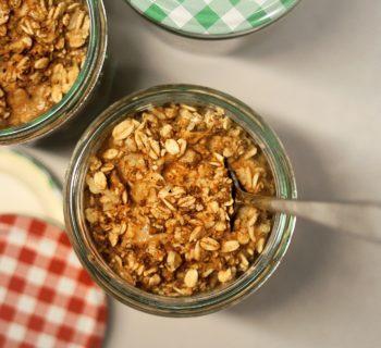 High-Protein Savory Vegan Oatmeal