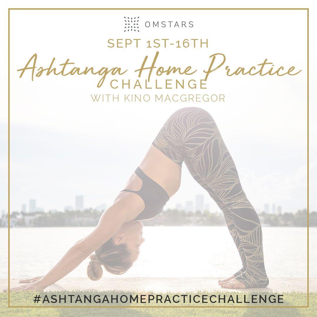 Ashtanga Home Practice Challenge