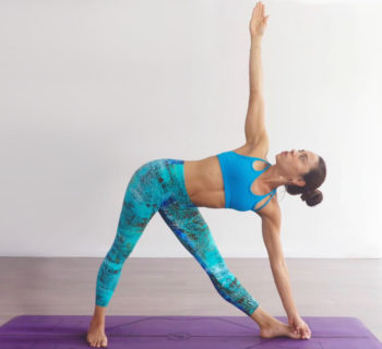 Co-activate Your Psoas and Quads in Trikonasana