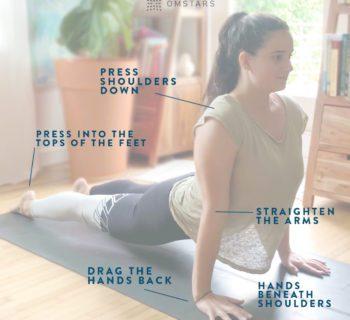 Yoga Pose Tips: Upward Facing Dog