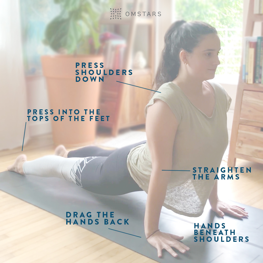 Yoga Pose Tips: Upward Facing Dog