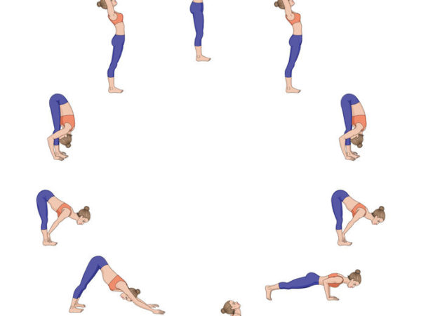How to do Surya Namaskar A (Sun Salutation A)