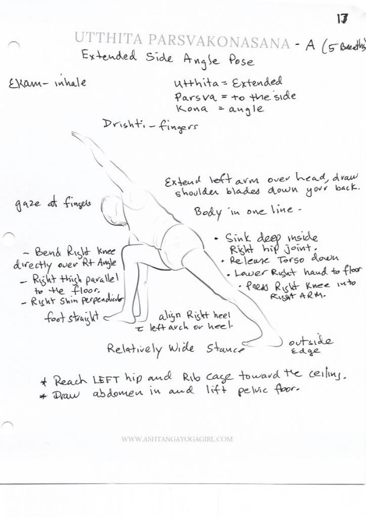 Yoga Pose Tutorial: Parsvakonasana or Extended Side Angle