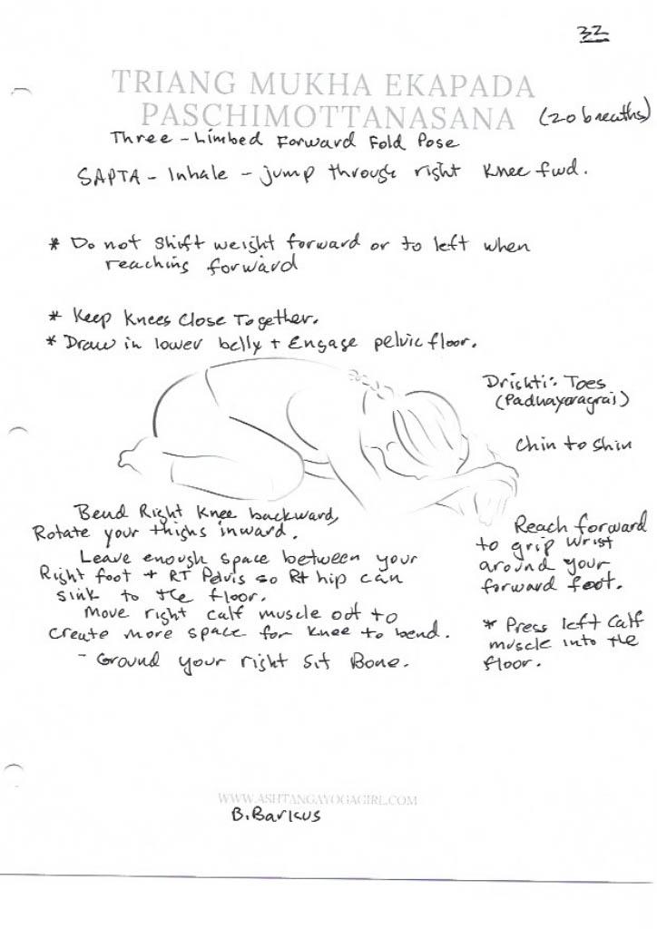 Yoga Pose Tutorial: Tiryang Mukha Ekapada Paschimattanasana or Three-Limbed Forward Fold